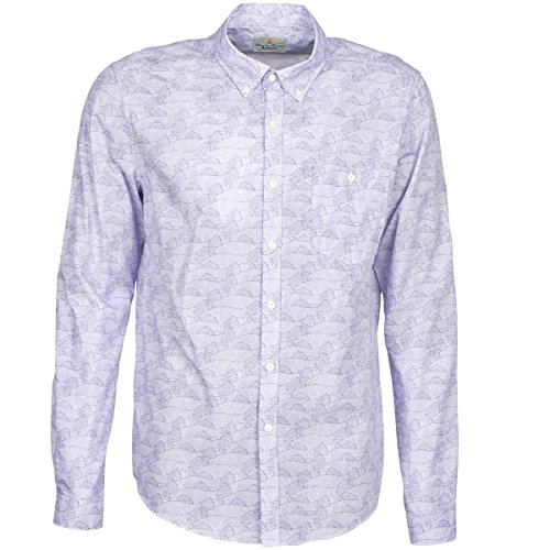 Barbour Catch Hemden Herren Blau - M - Langärmelige Hemden