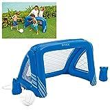Intex Fun Goals Game - Aufblasbares Wasserballspiel - Wasserballnetz - 140 x 89 x 81 cm