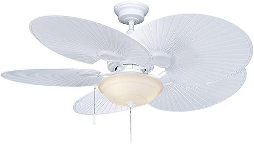 Hampton Bay Havana 48 In Indoor Outdoor Matte White Ceiling Fan Home And Garden Products Amazon Com