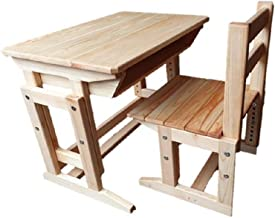 学童机 学習机 こども 幼児用デスク デスクチェアセット 高さ調節可能 幅65cm 天然ヒノキ(京都府産) 適合身長117~158cm(JIS規格2号~4号)