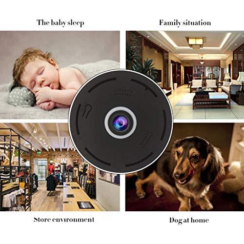 Swiftswan Almacenamiento en la nube 360 grados de visión completa Mini cámara de seguridad interior Wifi cámara Panorama tarjeta integra 2 millones de cámaras inteligentes