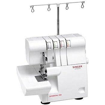 Singer 14SH754 - Máquina de Coser (Overlock, 1 Paso, Variable, 1300 RPM, Variable): Amazon.es: Hogar