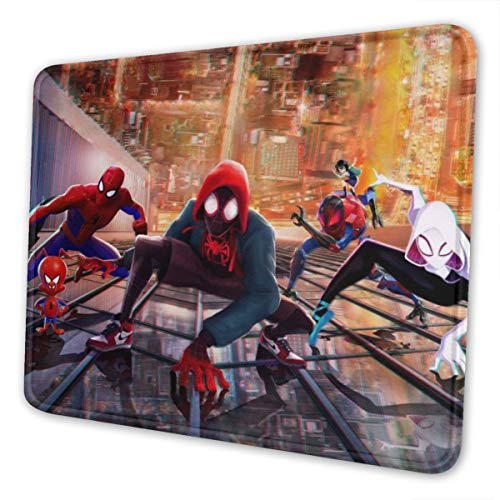 Spider-Man Gaming Mouse Mat, Non-Slip Rubber Mouse Pad, 8.3 x 10.3 in Rectangular Horizontal Version Waterproof Mouse Mat.