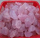 Pietra di cristallo di quarzo rosa rosa grezzo naturale 1000G Mozambico