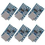 UMLIFE 6PCS TF Card MP3 Decoder Board 3.7V/5V Power 2W Amplifier Module for Arduino Support FM Radio Audio Mode