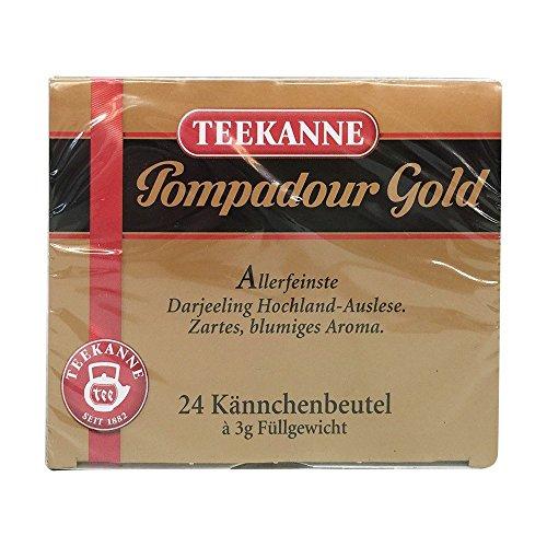 Teekanne Pompadour Gold 5er Pack