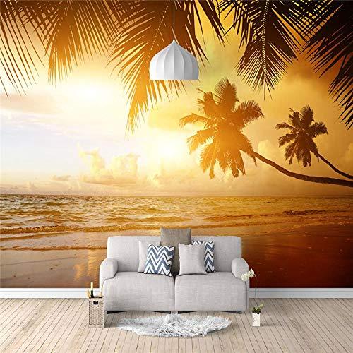 Fotobehang 3D Twilight Sea Coco behang voor de woonkamer slaapkamer TV achtergrond wand decoratie 140x100CM