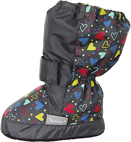 Sterntaler Mädchen Baby-Schuh Stiefel, Grau (Eisengrau 577), 22 EU