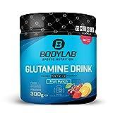 Bodylab24 Glutamine Drink Powder Matrix Formula 300gr / Glutamin-Pulver mit 5,5g reinem L-Glutamin...