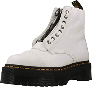 bottes et bottines dr martens sinclair white aunt sally