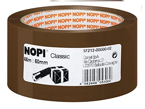 6er Nopi Packband PP 57212 braun 50mmx66m