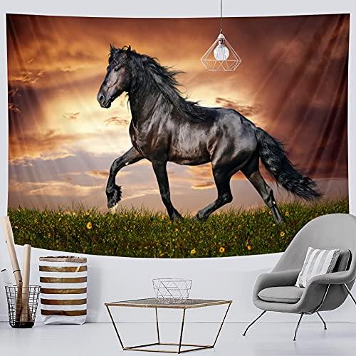 PPOU Animal Print Tapiz Colgante de Pared Artista Sala de Estar Tapiz Colgante de Pared Hippie Fondo Tela Manta Tela Colgante A4 150x200cm