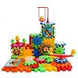 Silver_river 99 Pezzi - Gioco Educativo Set Giocattoli Ingranaggi da Costruzione per Bambini