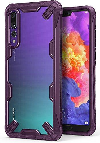 Ringke Fusion-X Custodia Compatibile con Huawei P20 PRO, Ergonomico [Difesa Militare Testata] Protezione per Paraurti Posteriore TPU Resistente Urti Ammortizzante Cover Huawei P20 PRO - Lilac Purple