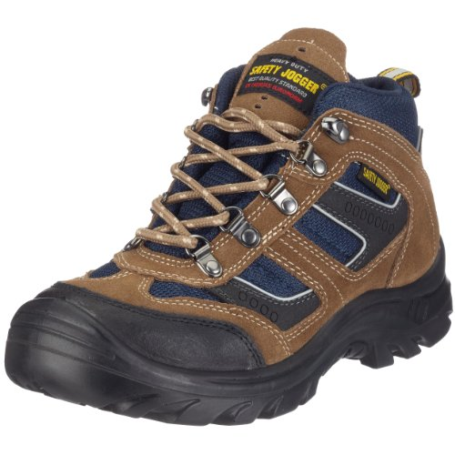 Safety Jogger X2000, Unisex - Erwachsene Arbeits & Sicherheitsschuhe S3, braun, (blk/brn/navy 10A blk/brn/navy), EU 43