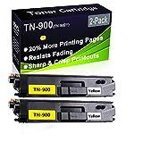 Cartuccia toner compatibile HL-L9200 HL-L9300 (alta capacità) per stampante laser Brother TN-900 (TN-900Y), confezione da 2 pezzi