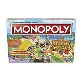 Monopoly edizione Animal Crossing New Horizons, divertente gioco da tavolo per bambini dagli 8 anni in su, da 2 a 4 giocatori