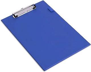 Rapesco Porte-Bloc Standard A4 Papier Ministre Recouvert en PVC (Lot de 1) Bleu
