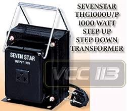 Sevenstar THG-1000 Watt Voltage Converter Transformer 110/120/220/240v