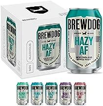 BrewDog 12-Pack of Hazy AF | Non-Alcoholic NE | 37 Calories, 6.5g Carbs Per Serving | 12oz Cans