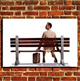 Box Prints Forrest Gump Tom Hanks Leinwand Wand Kunstdruck