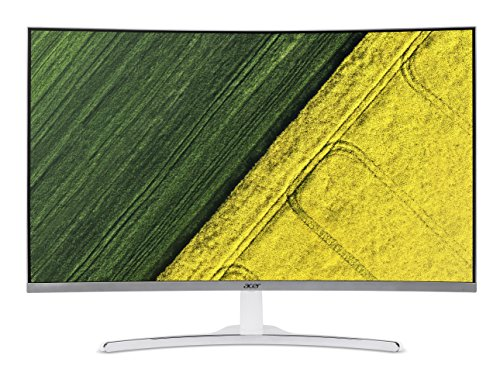 Acer 31.5-inch (80.01 cm) Curved Full HD LED Backlit Computer Monitor with Stereo Speakers - ED322Q...