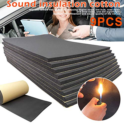 AES 40 Sqft Car Insulation Automotive Thermal Sound Deadener Block Heat /& Sound