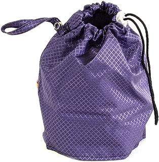 Amethyst Purple Jewel Medium GoKnit Pouch Project Bag w/ Loop & Drawstring