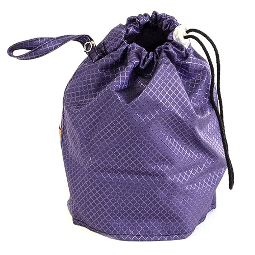 Amethyst Purple Jewel Large GoKnit Pouch Project Bag w/ Loop & Drawstring