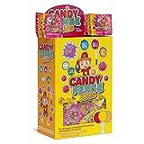 Cerdán Candyfense Kids piruleta sabores Variados Piruletas con Palo 200 Unidades de 5.5 g