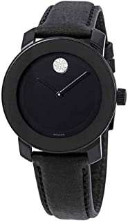 Movado Bold Black Dial Ladies Watch 3600483