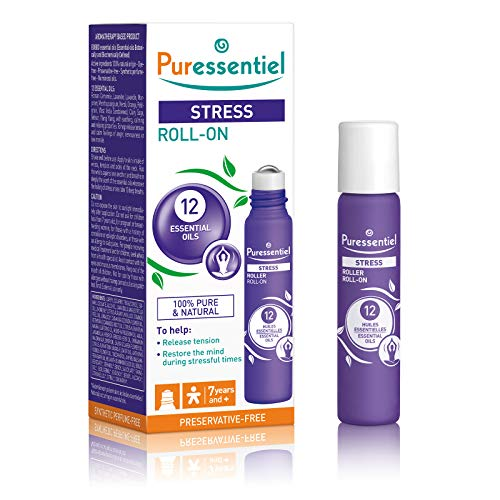 Puressentiel Stress Roller With 12 Essential Oils 5ml