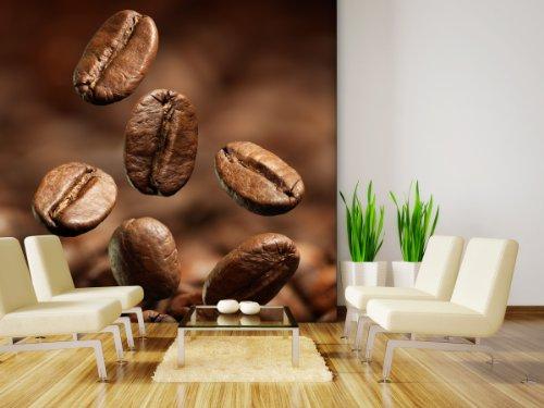XXL-behang fotobehang Coffee Beans in verschillende maten - naar keuze als papier of vliesbehang
