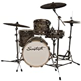 Sawtooth Command Series 4-Piece Drum Set Shell Pack with 18' Bass Drum, Marble