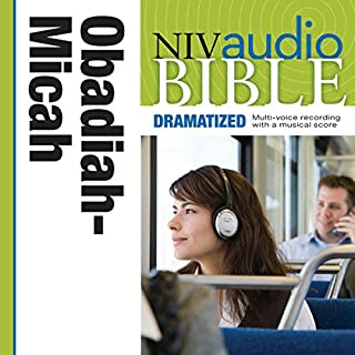 Dramatized Audio Bible - New International Version, NIV: (26) Obadiah, Jonah, and Micah audiobook cover art