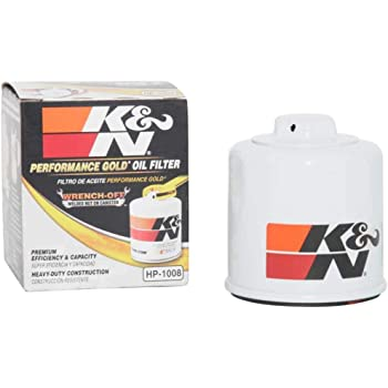K&N Premium Oil Filter: Designed to Protect your Engine: Fits Select INFINITI/MAZDA/NISSAN/SUBARU Vehicle Models (See Product Description for Full List of Compatible Vehicles), HP-1008