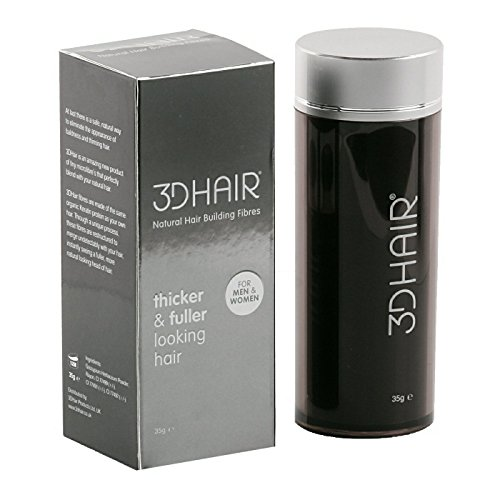 3D Hair Loss Fibres for Thinning Hair 35g (Medium Brown)