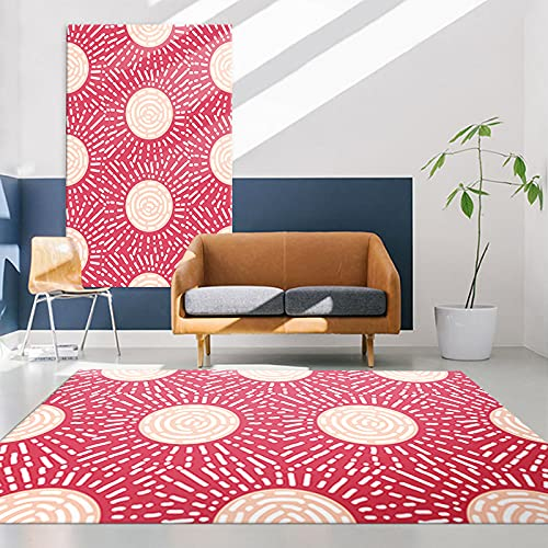 Modern Nordic Style Carpet Thick Waterproof Non-Slip Floor Mat Suitable for Bedroom Living Room