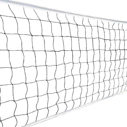 Rete da pallavolo regolabile pieghevole da badminton rete da tennis per giardino, cortile, parco giochi spiaggia piscina adulto bambino