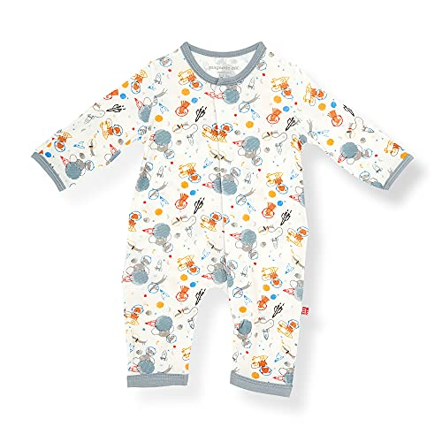 Magnetic Me Easy-Close Modal Coverall Jumpsuit Astro Pups 6-9 Months