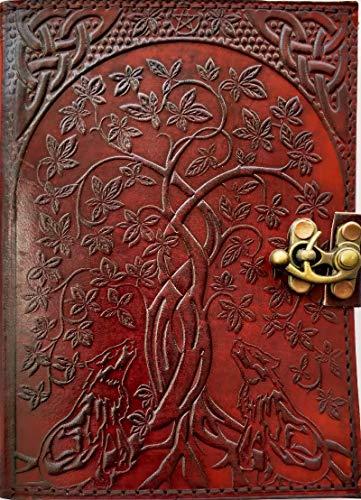YILEEY Pack de 5 cuadernos Libretas Grapadas Cuaderno de Notas para Despacho Diario Escritura de la Escuela Chicos Chicas y Maestros A4 Tapa de Kraft Blanda Cuadr/ícula 60 p/áginas