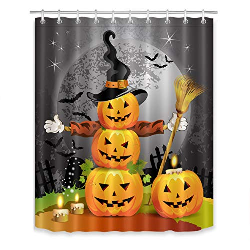 Halloween Pumpkins Shower Curtain