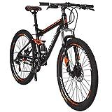 Eurobike Moutain Bike TSM S7 Bicycle 21 Speed MTB 27.5 Inches Wheels Dual