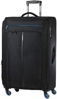 حقيبة سفر صغيرة الحجم باللون الأسود والأزرق من سامسونايت باترونو سبينر