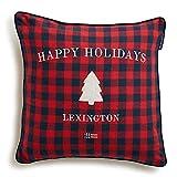 Lexington - Holiday Checked Sham - Kissen, Zierkissen, Kissenhülle - 50 x 50 cm - Farbe: Blau, Rot...