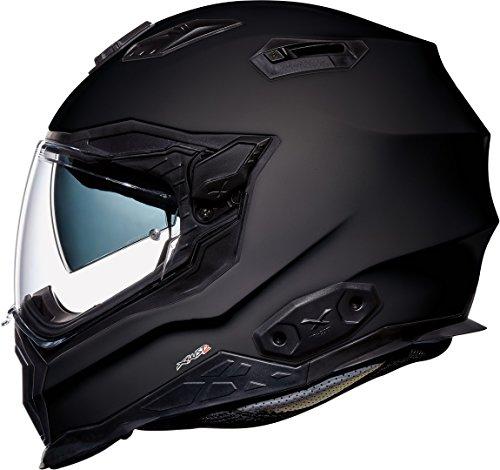 Nexx X.WST 2 Plain Helm Schwarz Matt L (59)