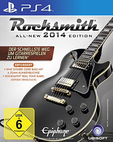 Rocksmith 2014 (ohne Kabel) [PlayStation 4]