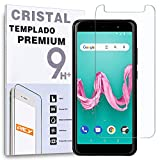 REY Protector de Pantalla para WIKO Lenny 5, Cristal Vidrio Templado Premium