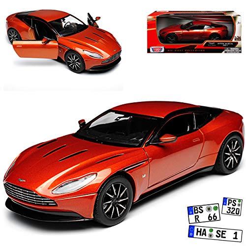 Motormax Aston Martin DB11 Coupe Orange Metallic Ab 2016 1/24 Modell Auto