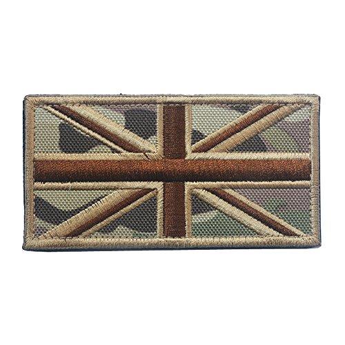 Union Jack Royaume-Uni Drapeau national brodée coudre sur patch badge Applique Angleterre Drapeau UK Grande-Bretagne Patch badge CP